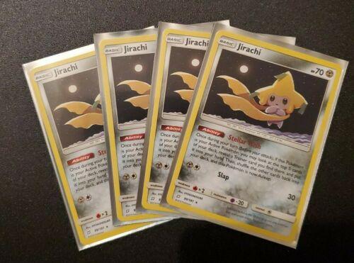 4x Jirachi 99/181 Team Up Non Holo Rare Pokemon TCG Card NM - Image 1