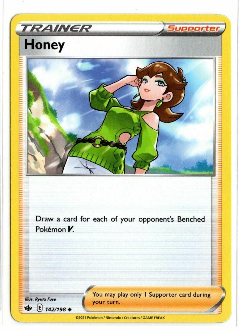 Pokemon TCG Chilling Reign - Honey 142/198 NM/M - *Brand New*