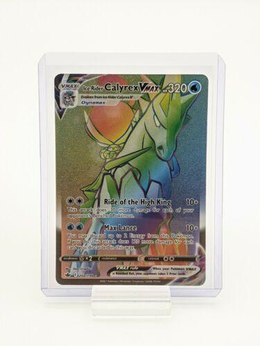 Ice Rider Calyrex VMAX 202/198 Chilling Reign Pokemon TCG Secret Rare NM