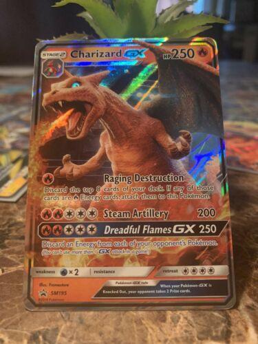 Charizard GX 2019 Pokemon Sun & Moon Black Star Promos Foil Card #SM195
