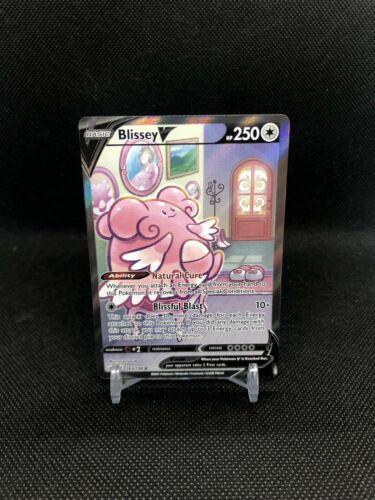 Blissey V Alternate Art 183/198 Ultra Rare Chilling Reign Mint Condition
