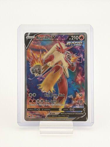 Blaziken V 161/198 Chilling Reign Pokemon TCG Ultra Rare NM