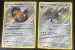 Pokemon Shining Fates Galarian Stunfish SV088/SV122 and Corviknight SV089/SV122
