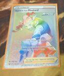 Pokemon TCG Battle Styles RAPID STRIKE STYLE MUSTARD Rainbow Secret Rare 176/163