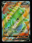Pokemon TYRANITAR V 154/163 Battle Styles - ULTRA RARE FULL ART - MINT