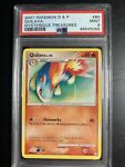 Quilava Pokemon Card Diamond and Pearl Mysterious Treasures 60/123 PSA 9 Mint!