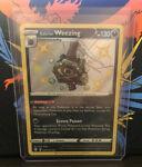 Galarian Weezing Pokémon Card (Shining Fates SV077/SV122) Shiny Holo