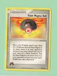 Pokemon 2004 Team Magma Ball 80/95 Trainer