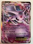 Pokemon TCG - XY BREAKpoint Espeon EX Ultra Rare Card - 52/122