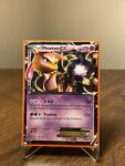 Mewtwo EX BW45 Holo Black & White Black Star Promo Pokemon Card. LP