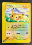 Pikachu Pokemon Card - Reverse HOLO - Expedition Base Set 124/165 - Near Mint