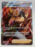 Pokemon Holo NM Trainer Single Strike Style Mustard 163/163 Battle Styles