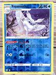 Frosmoth 030/072 Rare Shining Fates Reverse Holo Pokemon Card