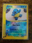 Squirtle Reverse Holo 131/165 Expedition Pokemon Card