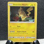 Detective Pikachu 10/18 Pokemon Card Detective Pikachu Holo Rare Near Mint