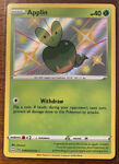 Applin SV012/SV122 Shiny Holo Rare Pokemon TCG Shining Fates NEAR MINT