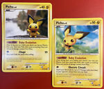 Pokémon Pichu 93/123 - Mysterious Treasures & Pichu 45/100 - Stormfront