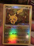 Pokemon Pikachu reverse holo 94/123 Diamond & Pearl Mysterious Treasures EXC-NM