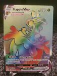 Pokémon TCG Flapple VMAX Sword & Shield - Battle Styles 164/163 Holo Secret Rare