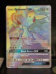 Genesect GX Pokemon TCG SM Lost Thunder 224/214 Secret Rare Full Art NM/M