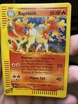 Rapidash Water Damaged 26/165 Expedition Pokémon Card PL