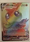 Victini VMAX 165/163 - Battle Styles - Rainbow Secret Rare Holo Pokemon Card