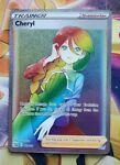 Cheryl Full Art Rainbow Secret Rare - Pokemon Battle Styles 173/163 - FRESH PULL