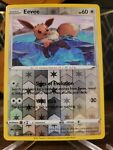 Eevee 052/072 - Shining Fates - Reverse Holo Pokemon Card - Near Mint (NM)