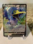 Cramorant V 054/072 FULL ART Pokemon Shining Fates Holo Rare Card