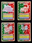 Ditto Slowbro  Slowpoke Beedrill Topsun Pokemon Cards 1995 Green (1548a)