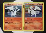 Pokemon B&W Reshiram 26/114 & Promo BW004. 2 Card Set