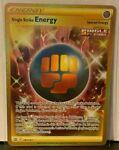 Pokemon Battle Styles Single Strike Energy Gold Secret Rare 183/163