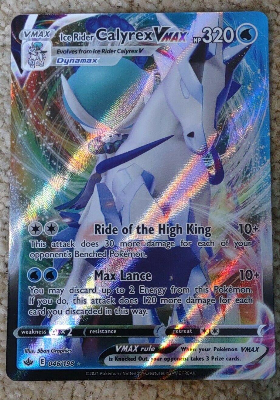 Ice Rider Calyrex VMAX (046/198) [Sword & Shield: Chilling Reign] Pokémon D1