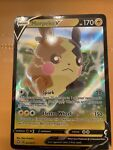 Morpeko V ULTRA RARE 037/072 Shining Fates Pokemon TCG Card Near Mint