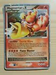 Magmortar LV.X 123/123 Very Rare Holo Mysterious Treasures Pokémon TCG Card