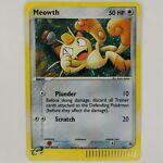 Pokémon TCG Meowth Nintendo Black Star Promos 013 Holo Promo NM