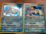 2 Milotic rare one holo one non holo 12/101 Ex Hidden Legends Pokemon Card NM