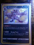 Grimmsnarl SV085/SV122 Shiny Holo Rare Shining Fates Pokemon Card NM/M