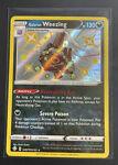 Galarian Weezing SV077/SV122 Shiny Holo Rare Pokemon Shining Fates Card!