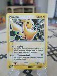 Pokemon Pikachu 2003 012 Black Star Promo Card Pokemon RARE TCG NM Mint