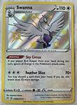 Pokémon TCG Swanna Shining Fates SV096/SV122 Holo Shiny Holo Rare