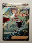 pokemon Korrina's Focus rare full art trainer 160/163 battle styles