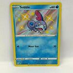 Sobble SV025/SV122 Shining Fates Holo Shiny Rare Sleeved Near Mint Pokemon card