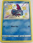 Pokemon TCG Card Sobble SV025/SV122 Shining Fates Shiny Vault Shiny Holo Rare NM