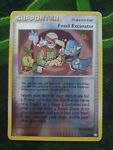 Mysterious Treasures Reverse Holo Fossil Excavator 111/123 Pokemon Card played