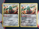 Pokemon Battle Styles 102/163 Bronzong Reverse and Holo Rare Near Mint
