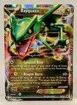 RAYQUAZA EX Black Star Promo BW47 Extended Art 2012 Pokemon Card
