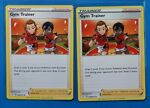 2x Gym Trainer 059/072 Pokemon card Shining Fates uncommon NM