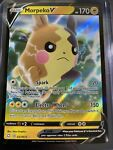 Pokemon Morpeko V 037/072 Shining Fates Shiny Holo Rare NEAR MINT