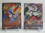 Cinderace V & VMAX 019/072 - V 018/072 / Shining Fates / Pokemon TCG / M/NM